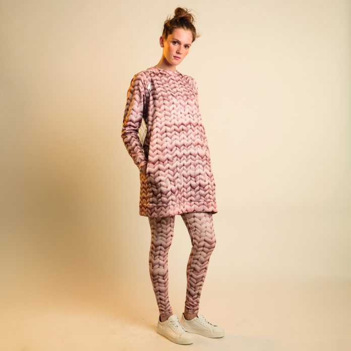 SNURK pyjama loungewear jurk legging twirre pink dames trendy winter 2017-2018