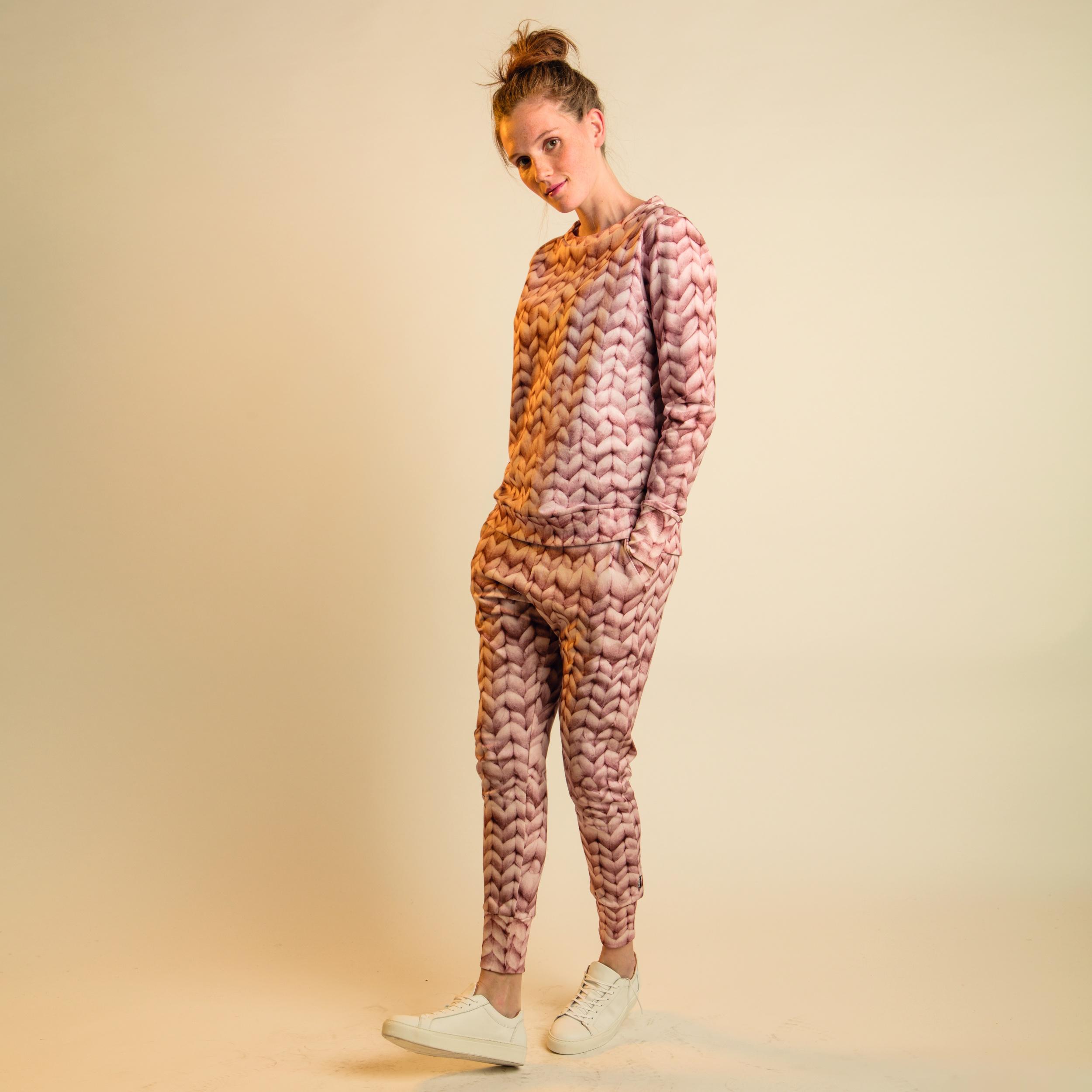 SNURK Twirre sweater roze TrendyWinter.nl