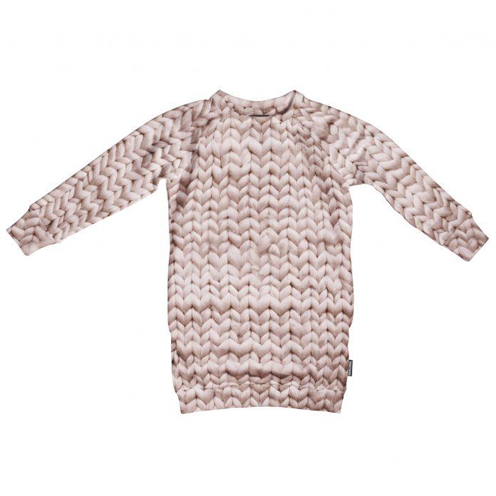 SNURK pyjama huispak jurk twirre roze trendy winter 2017-2018