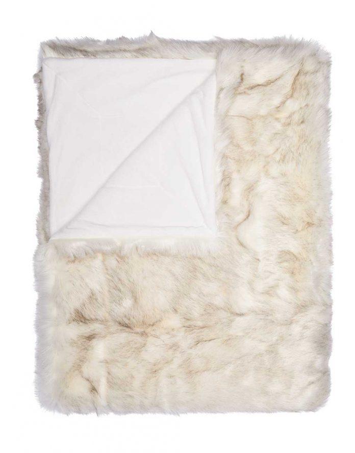 trendywinter essenza levin fake fur plaid homewear