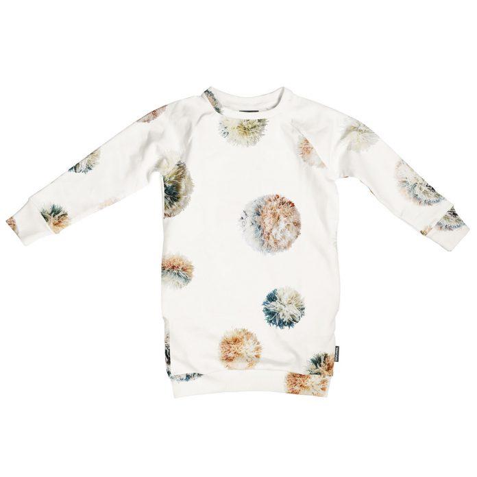 SNURK pyjama loungewear collectie winter 2018/2019 sweater jurk pompom