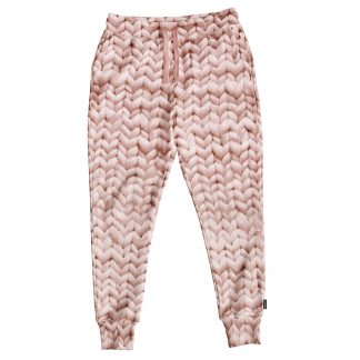 SNURK pyjama loungewear broek twirre roze dames trendy winter 2017-2018